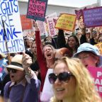 Abortion ban protests: Thousands demonstrate against new restrictive laws across America