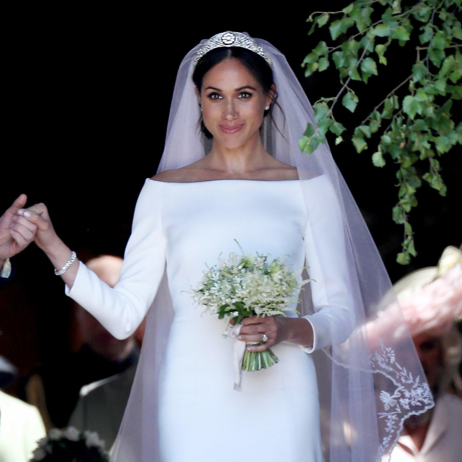 Watch Meghan Markle See Her Givenchy Wedding Dress The Day