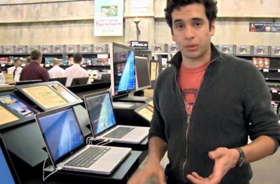 Microsoft's second Laptop Hunters commercial: Giampaulo buys an HP HDX