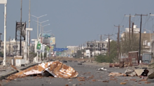 Deserted Streets in Hodeidah Seen Where Saudi Forces Took Control