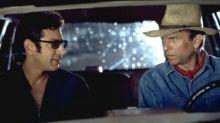 Jurassic Park's Sam Neill and Jeff Goldblum croon on the set of 'Jurassic World: Dominion'