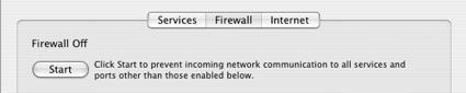 Adobe CS3 may disable your firewall