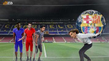 A Griezmann no le queda otra que cargarse el equipo al hombro y sacar al FC Barcelona adelante