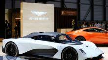 Aston Martin raises £120 million in debt, shares fall on high cost