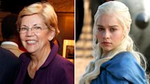 Elizabeth Warren Recapped  Game of Thrones : Why She Loves Daenerys and Loves to Hate Cersei