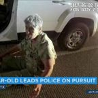 Grandma, 81, leads Texas police on chase because she wanted coffee, sandwich