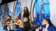 Jason Momoa leads a dramatic haka at 'Aquaman' premiere