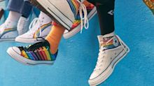 Höchste Zeit, Farbe zu bekennen: Mit der neuen Pride-Kollektion von Converse