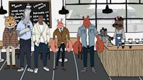 Gentlemen Lobsters - When Keeping it Real at a Pretentious Coffee Shop Goes Wrong