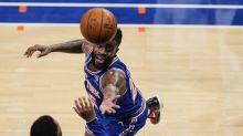 Burks scores 30, rallies Knicks past Spurs, 102-98