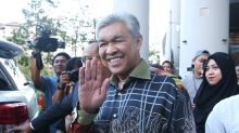 Zahid says Umno will duke with cops in court to get its millions back