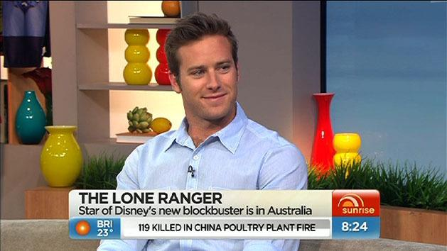 Armie Hammer: The Lone Ranger