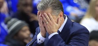 No. 1 college hoops team the victim of monumental upset