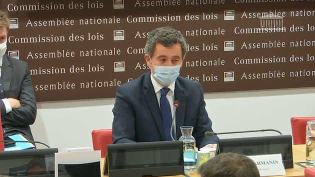 """Évacuation violente de migrants à Paris: le préfet Lallement a """"toute la confiance"""" de Gérald Darmanin"""