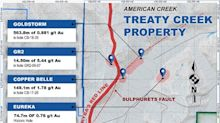 American Creek Announces Metallurgical Test Work and Preliminary Baseline Studies for Its JV Treaty Creek Property in the Golden Triangle