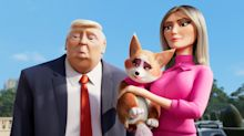 PG animation 'The Queen's Corgi' features a joke about Donald Trump's alleged sexual assaults