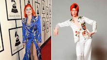 Lady Gaga vestida de David Bowie, Taylor Swift y otros looks destacados de los Grammy