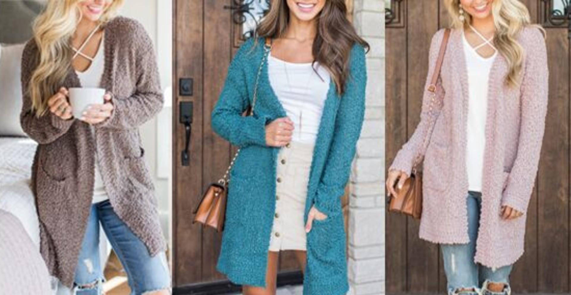 'Like wearing a blanket': Why Amazon sales for this $33 cardigan have increased by 3,925%. Seriously.