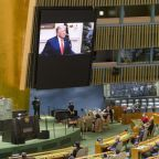 Trump slams China in U.N. speech echoing his campaign themes