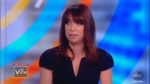 Illeana Douglas recalls Les Moonves 'putting his tongue down my throat' in first TV interview about alleged sexual misconduct