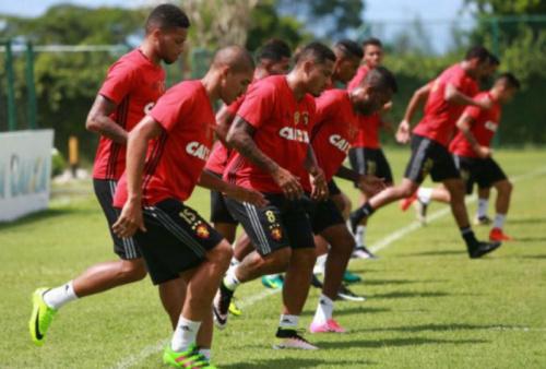 Sport realiza último treino antes de viajar para o Rio de Janeiro