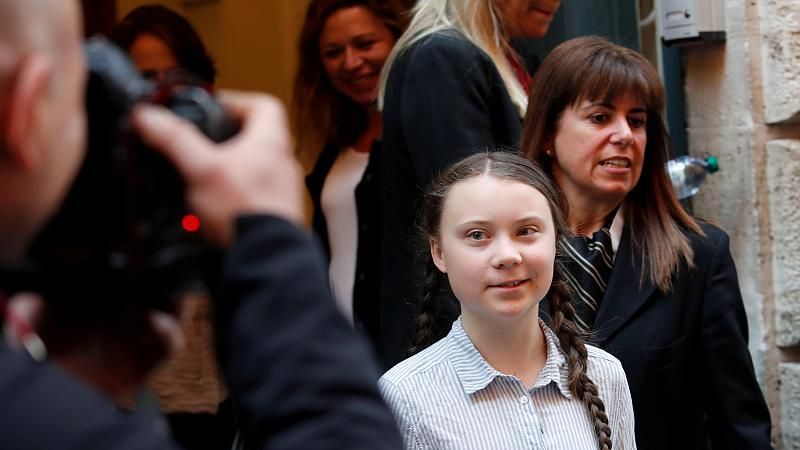 Greta Thunberg Papst
