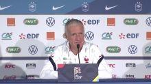 Foot - Bleus : Deschamps : «Mbappé et Kimpembe peuvent jouer demain»