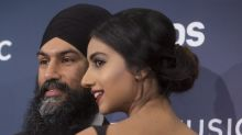 NDP leader's wife stuns in $300 dress at Junos