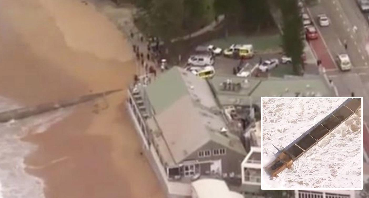 Surfer dies after being pulled from water unconscious in stormwater drain rescue