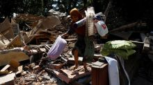 More earthquakes rock Indonesia's Lombok island