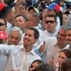 Venezuela set for aid showdown as Guaido claims military help
