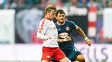 Forsberg penalty saves Leipzig after phone pair banished