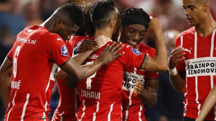 Foot - C1 - Le PSV Eindhoven punit Galatasaray lors du deuxième tour aller de qualification de la Ligue des champions