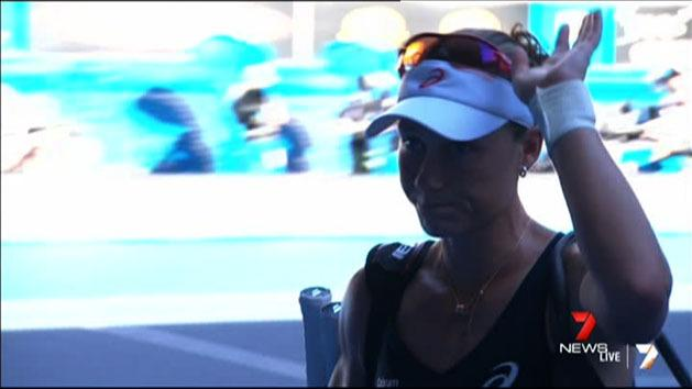 Stosur dumped from Australian Open