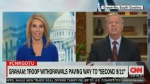 Lindsey Graham shocks CNN host with response: 'That's a bunch of bulls***'