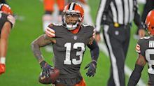 Odell Beckham Jr. still not at Browns practice due to COVID-19 protocols