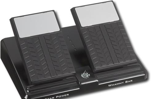 PS2 guitar pedal allows for precision rocking