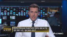 Goldman shares dip despite earnings beat