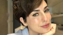 Fernanda Paes Leme pegou buquê de casamento de Angélica e Luciano Huck: 'Olha eu aqui 14 anos depois'