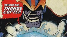 Thanos once flew a helicopter in the comics — now it can be yours!