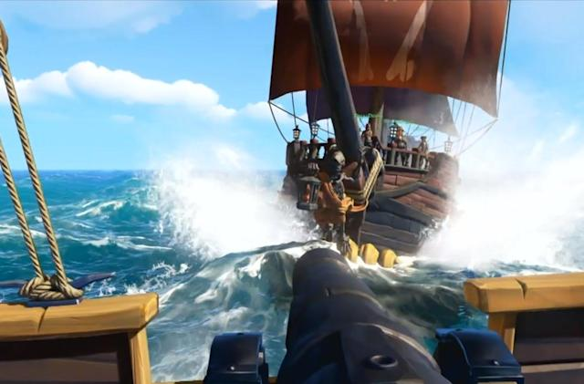 'Sea of Thieves' won't take you on an epic pirate adventure until 2018