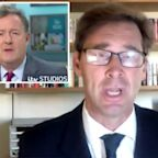 Piers Morgan clashes with Tory MP Tobias Ellwood after accusing party of 'not having the gumption' to appear on GMB