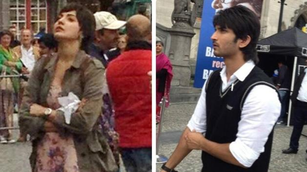 First look of Anushka Sharma and Sushant Singh Rajput in PEEKAY