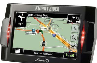 Mio's Knight Rider GPS now shipping to the hardcore fans