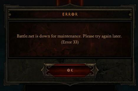 Diablo 3's Battle.net down again; June 12 targeted for real-money auction house [update]