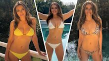 Liz Hurley looks fantastic modelling her bikinis, but how well is her swimwear business doing?