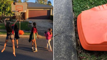 Why position of basketball hoop saw family fined