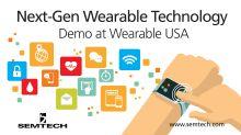 Semtech's Wireless and Sensing Solutions Enhance Next-Gen Wearable Technologies