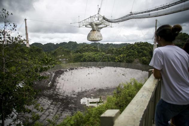 Hurricane Maria wreaks havoc on Arecibo radio telescope