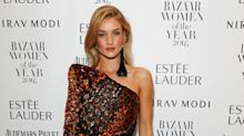 Rosie Huntington-Whiteley reveals she takes 100 selfies at a time as she talks body insecurities